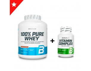 100% Pure Whey 2,3Kg + BCAA...
