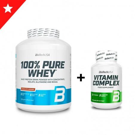 100% Pure Whey 2,3Kg + BCAA Zero 360gr