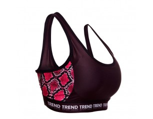 Top Trend Fitness Pink Mujer