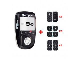 Compex SP 8.0 + REGALO de accesorios