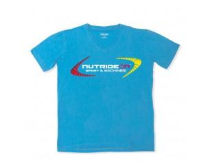 Camiseta Azul Manga corta - Nutrideon - Sport & Machines