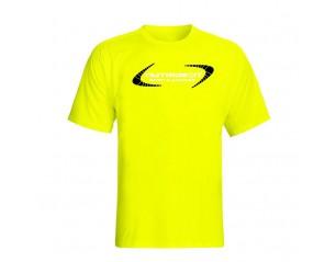 Camiseta manga corta - Nutrideon color amarillo