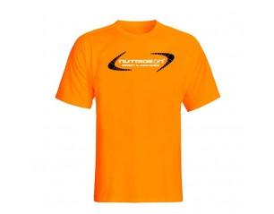 Camiseta manga corta - Nutrideon color naranja