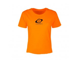 Camiseta manga corta de mujer - Nutrideon color naranja