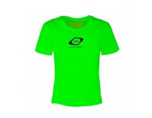 Camiseta manga corta de mujer - Nutrideon color verde
