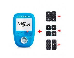 Compex Fit 5.0 2 módulos + REGALO de accesorios